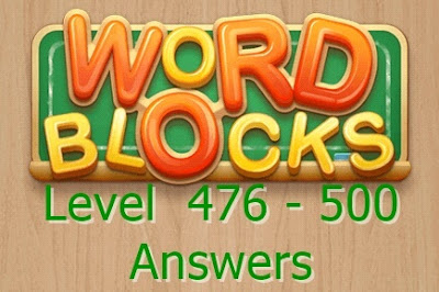 Word Blocks Level 479 Answers