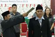 Resmi Komisioner KPUD Kotamobagu, Amir Halatan : Saya Siap Jalankan Amanah