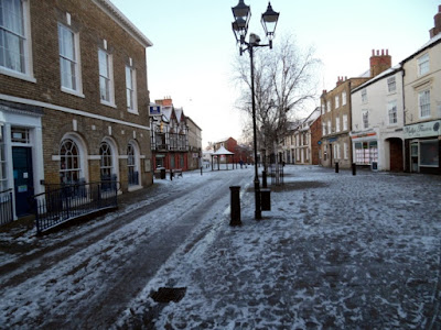 Picture four  of snow and ice in Brigg on January 23, 2019 by Nigel Fisher