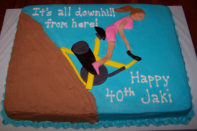over the hill birthday cakes for women