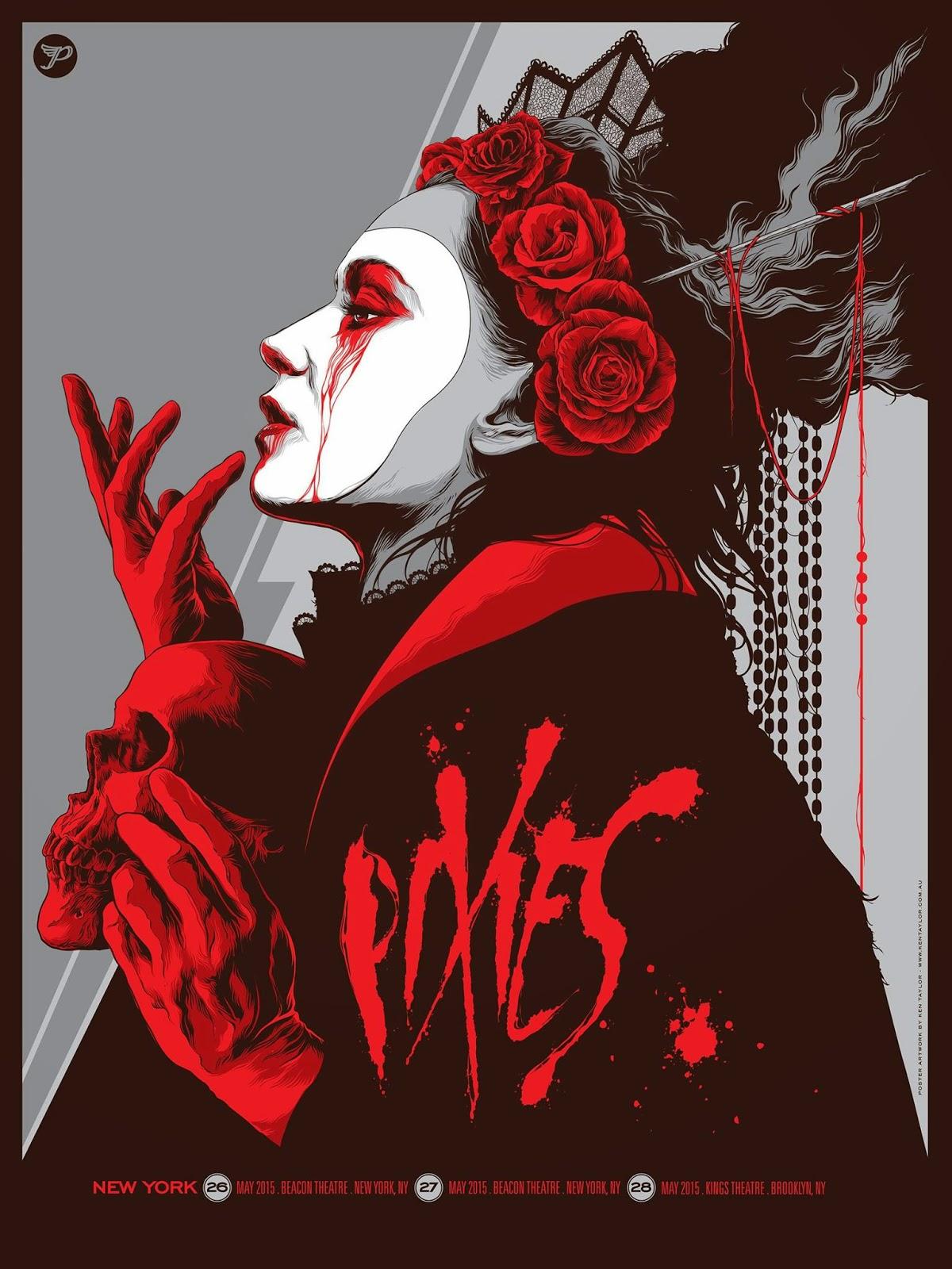 Inside The Rock Poster Frame Blog Ken Taylor Pixies New