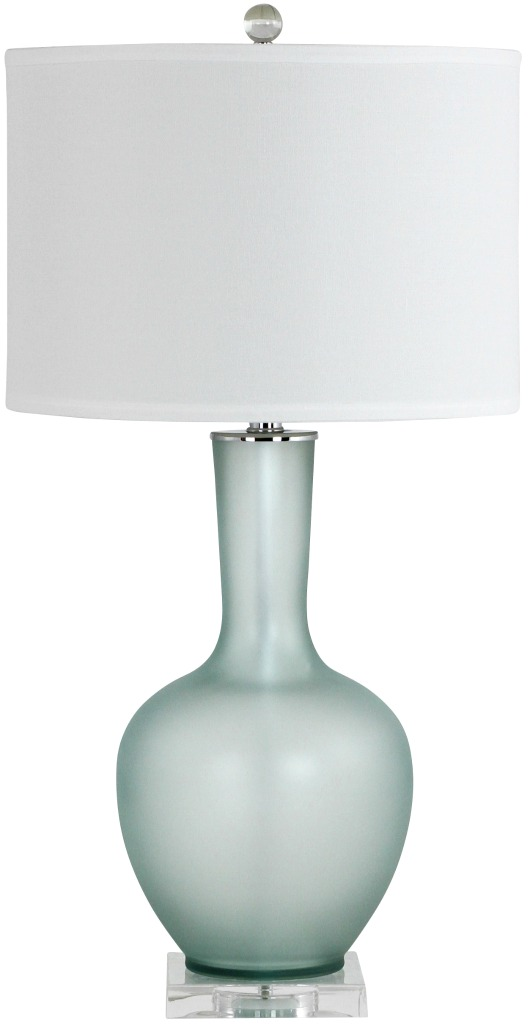 Beautiful Frosted Glass Lamp