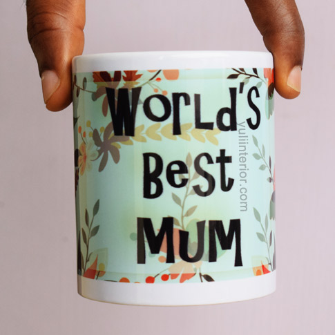 Buy World's Best Mum Mug For Mother's Day Gift Ideas in Port Harcourt, Nigeria