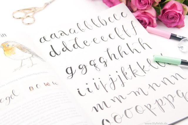 Hand Lettering die 33 schönsten Alphabete - Buchvorstellung