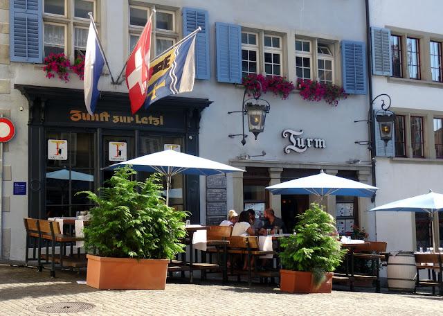 Restaurant Turm, Zunfthaus zur Letzi Zurich