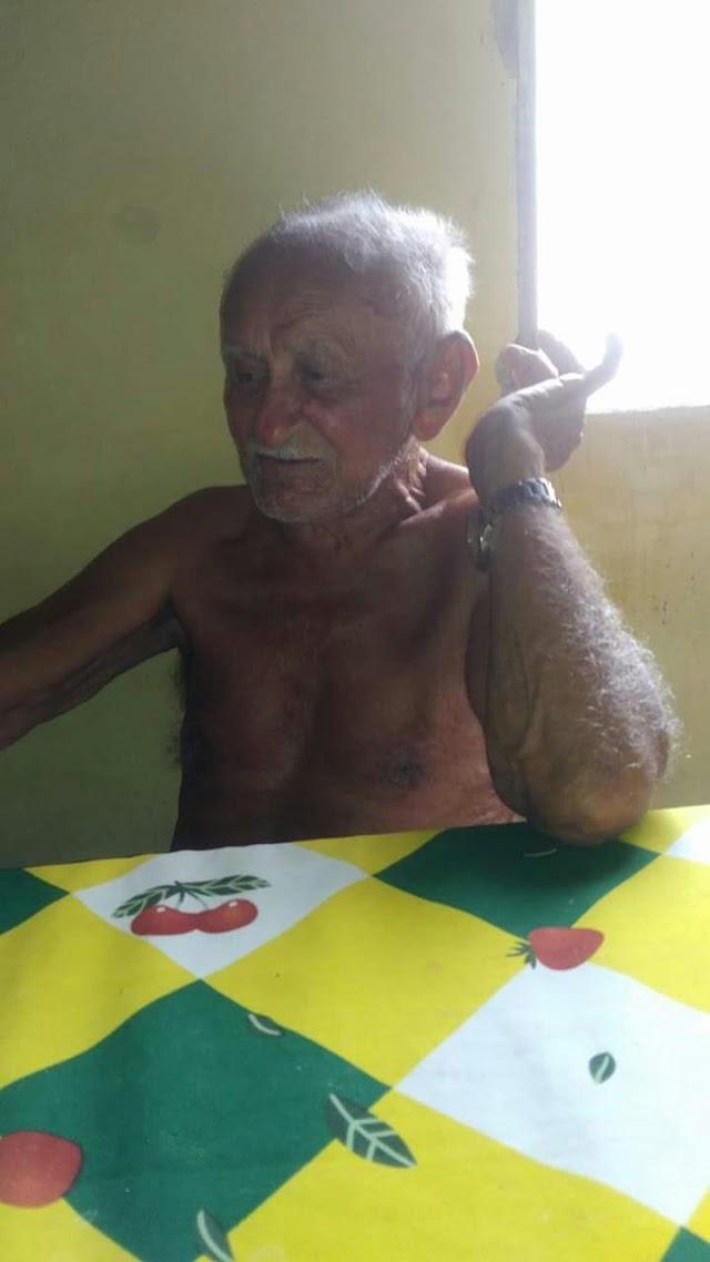 """LUTO: Aposentado Raimundo Alves, o """"Senhorzim"""" morre aos 93 anos em Elesbão Veloso"""