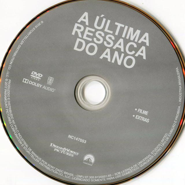 Label DVD A Última Ressaca do Ano (Oficial)