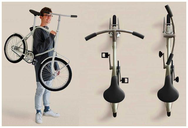 Коридорный велосипед от Дэвида Романа