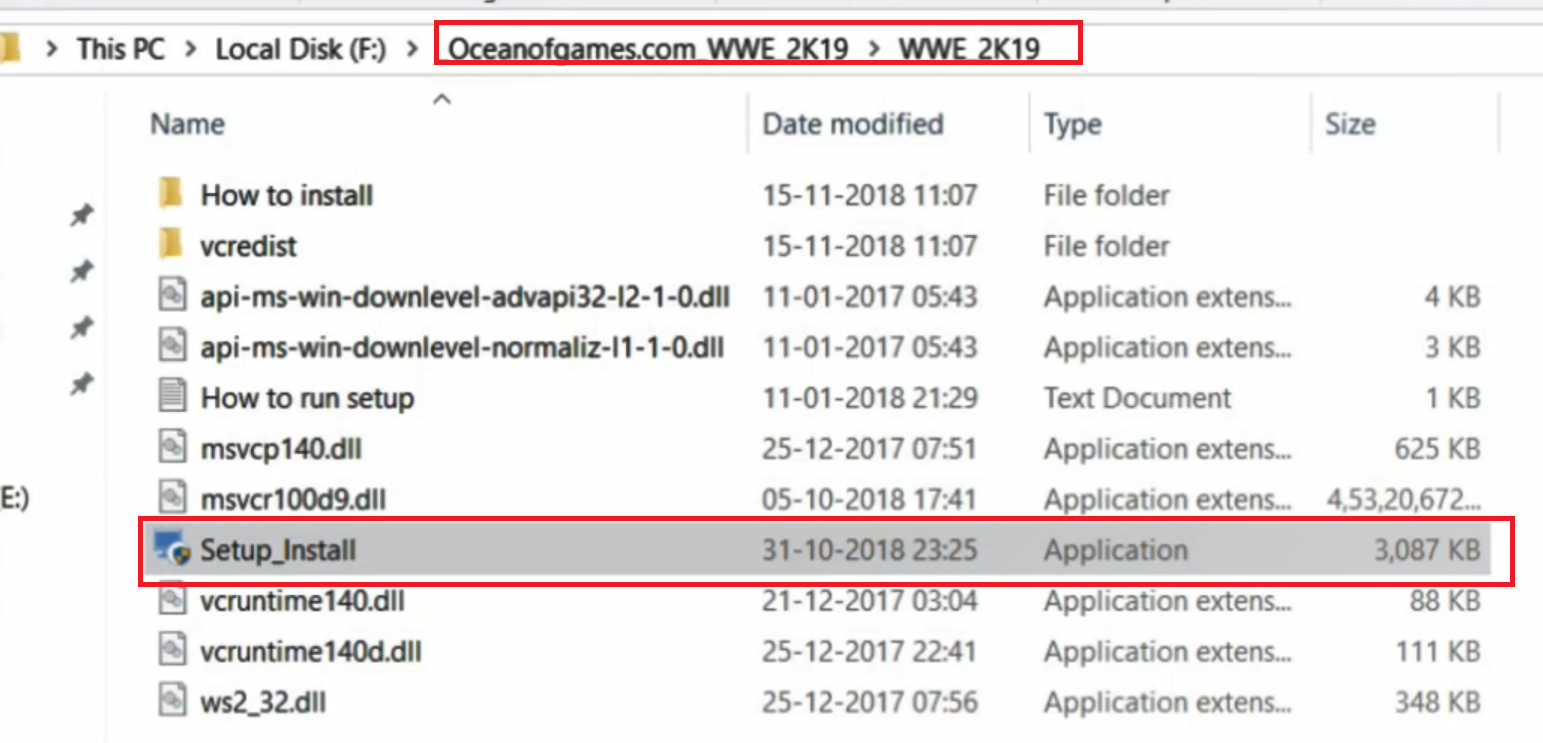 technology tips and tricks: How To Install WWE 2K19 Game Without