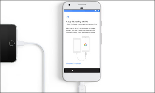 How to Transfer Contents from your iPhone to Google Pixel/Pixel XL phone | Seber Tech