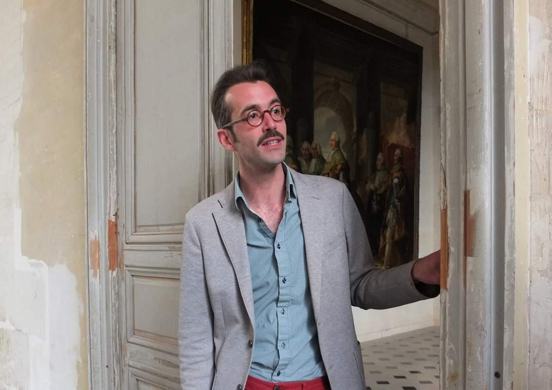 Nicolas Jacquet à Versailles