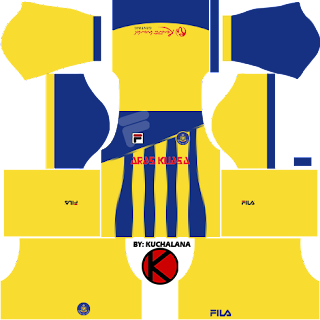 Pahang FA Fila Kits 2017 -  Dream League Soccer