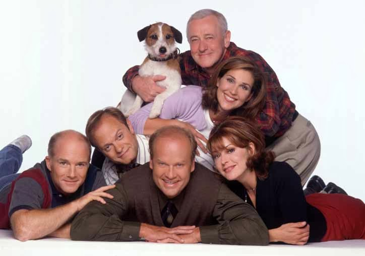 Frasier Kelsey Grammer David Hyde Pierce John Mahoney Jane Leeves