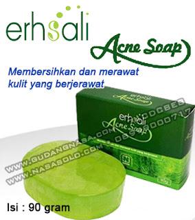 ERSHALI ACNE SOAP Rp.50.000,-