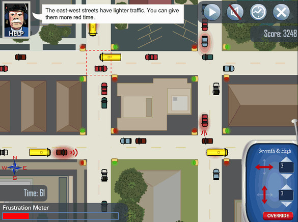 Try Your Hand At Traffic Management With A New Game | SRTC