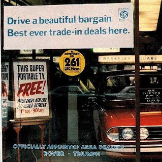 Berkely Square Garages 1976 window scene