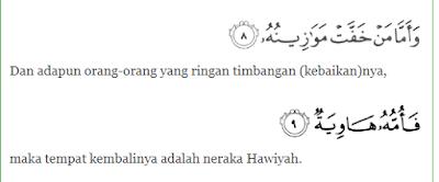 Makna Rukun Iman Yang Kelima Beriman Kepada Hari Akhir