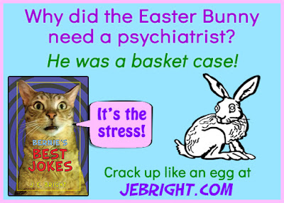 Why did the Easter Bunny need a psychiatrist?
