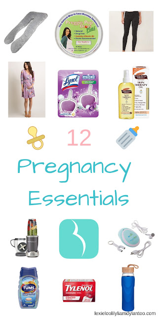 Pregnancy Must Haves! 12 items that every woman needs while they are pregnant! #pregnancy #pregnant #momtobe #baby #expecting