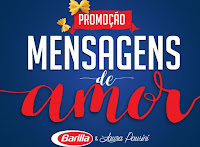 Promoção Mensagens de Amor Barilla & Laura Pausini mensagensdeamorbarilla.com.br