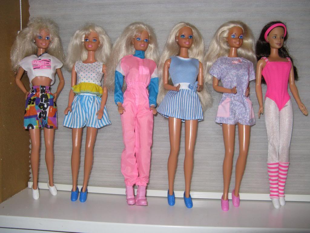 the barbie blog barbie s super fab 80 s casual wear