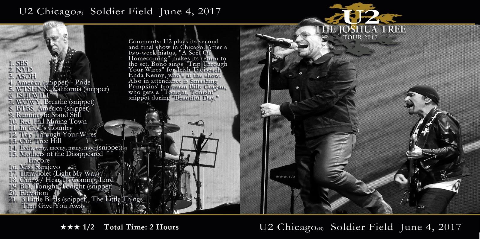 illustrationISM: U2 Chicago June 4th cover