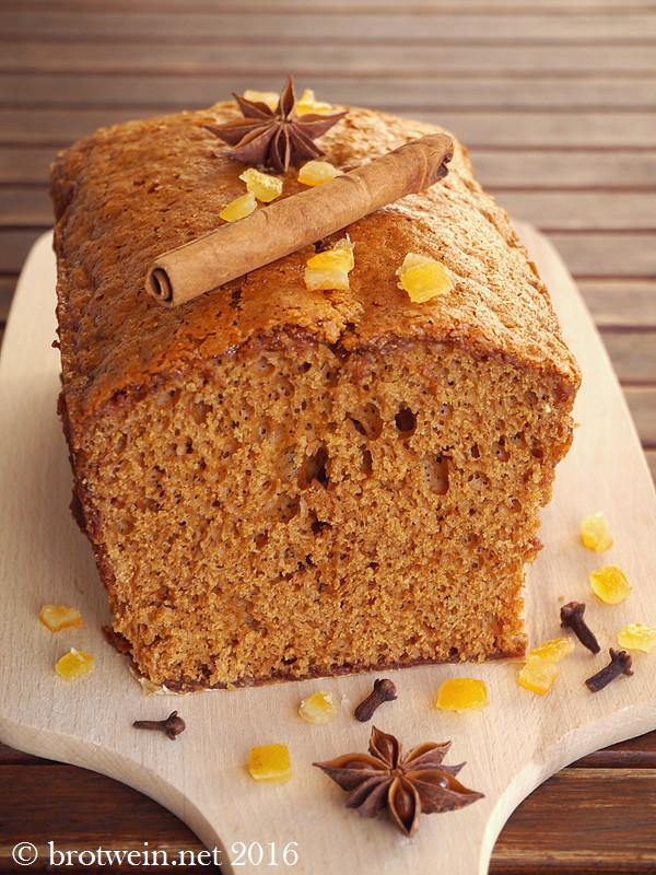 Pain d'épice - französischer Honigkuchen von Brotwein