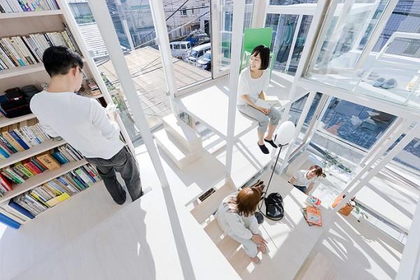 modern house transparent house design-8