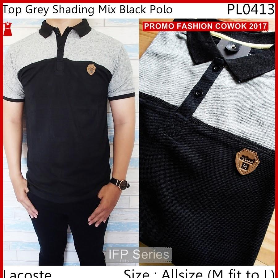BIMFGP037 Shading Kaos Polo Fashion Pria PROMO