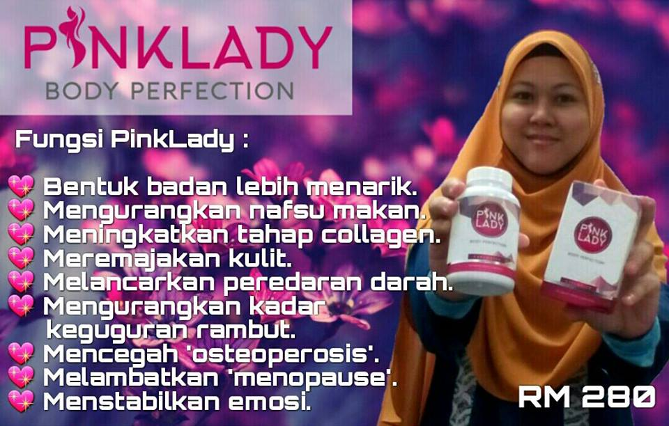 pink lady-body perfection, supplemen diet, harga, agen dropship diperlukan, manfaat, kelebihan
