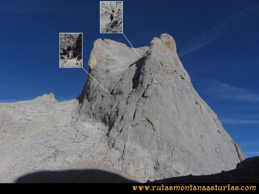 Ruta Urriellu, Canal de la Celada, Collada Bonita, Moñetas, Vegas del Toro: Sur del Urriellu
