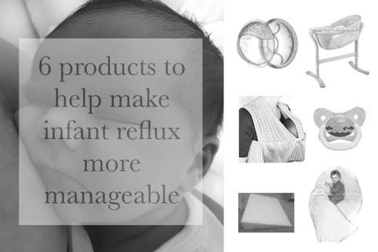 6 products to help make infant reflux more manageable