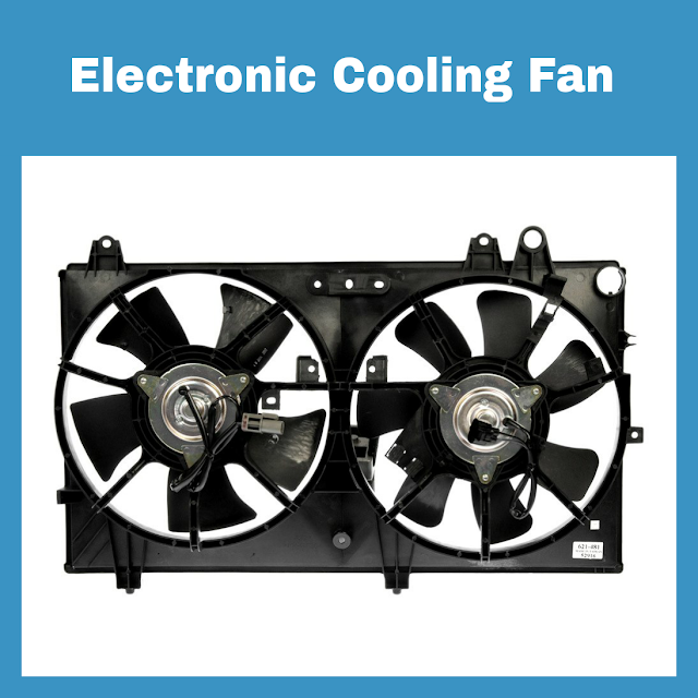 Cara kerja engine cooling fan