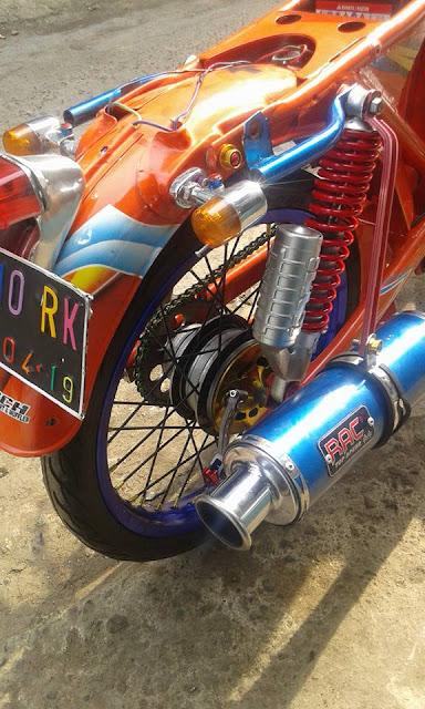 Modifikasi Honda Cb Kontes Keren