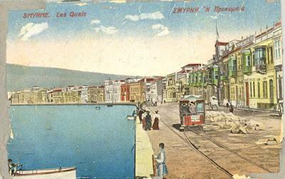 Η προκυμαία στην παλιά Σμύρνη / Old Smyrna docks / Les Quais