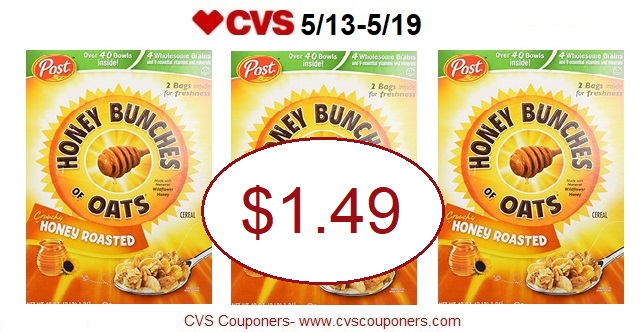 http://www.cvscouponers.com/2018/05/post-honey-bunches-of-oats-cereal-only.html