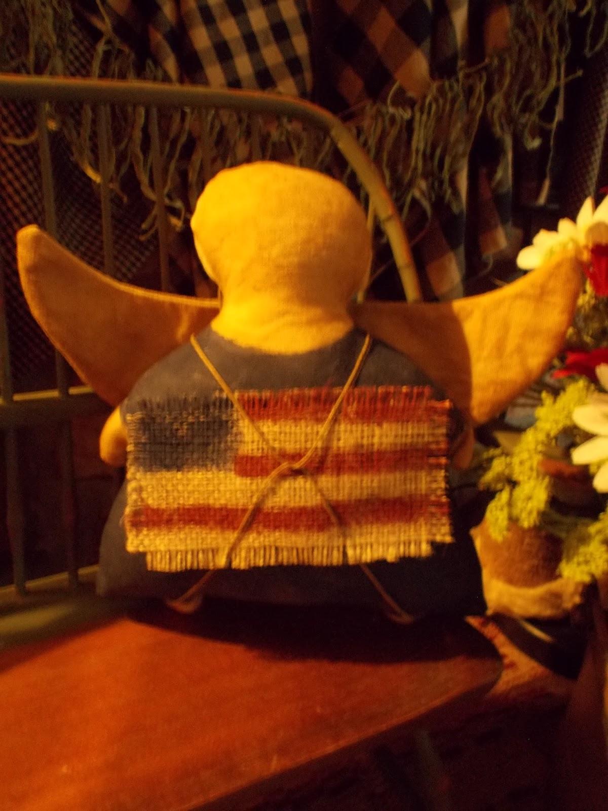 Timeworn Primitives Americana Angels
