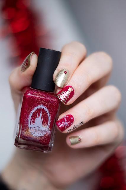 nail art Noël facile