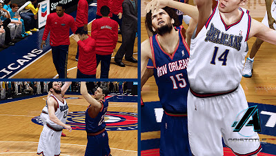 NBA 2K13 New Orleans Pelicans Jerseys