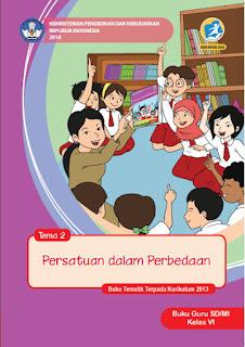Tema 2 Buku Guru Kelas 6-VI Kurikulum 2013 Revisi 2018