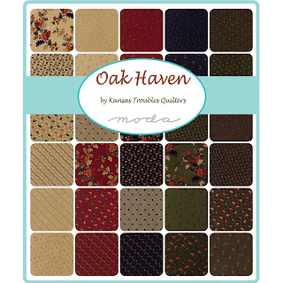 Moda Oak Haven Fabric by Kansas Troubles Quilters for Moda Fabrics