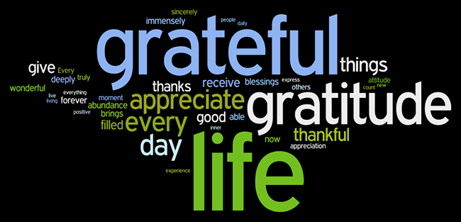 Inspired Living: Gratitude Floods the Mind with Inspired Ideas