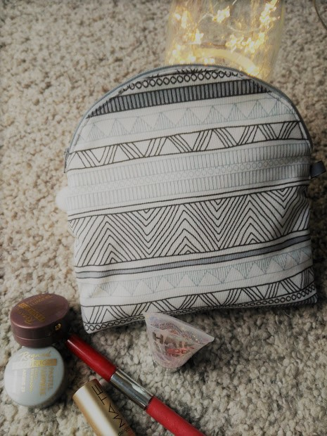 neceser maquillaje, make up case, costura, couture, sewing