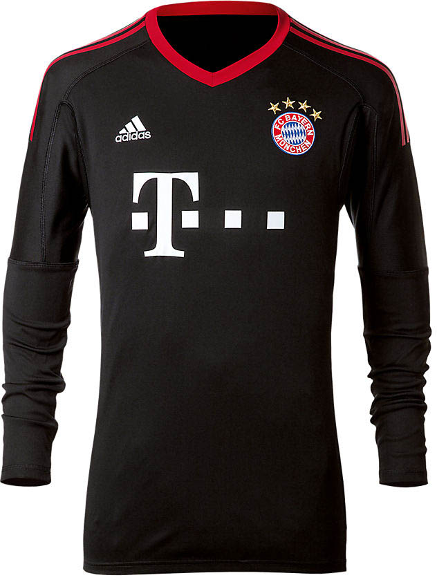 awesome bayern münchen 17-18 goalkeeper home kit released - footy