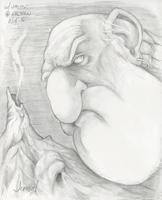 Pencil sketch -  Copyright - 2016 - Jephyr