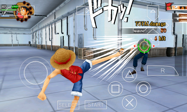 One Piece Romance Dawn PSP ISO Untuk Android