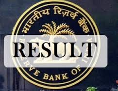RBI Grade B Phase 2 Results 2016 Declared