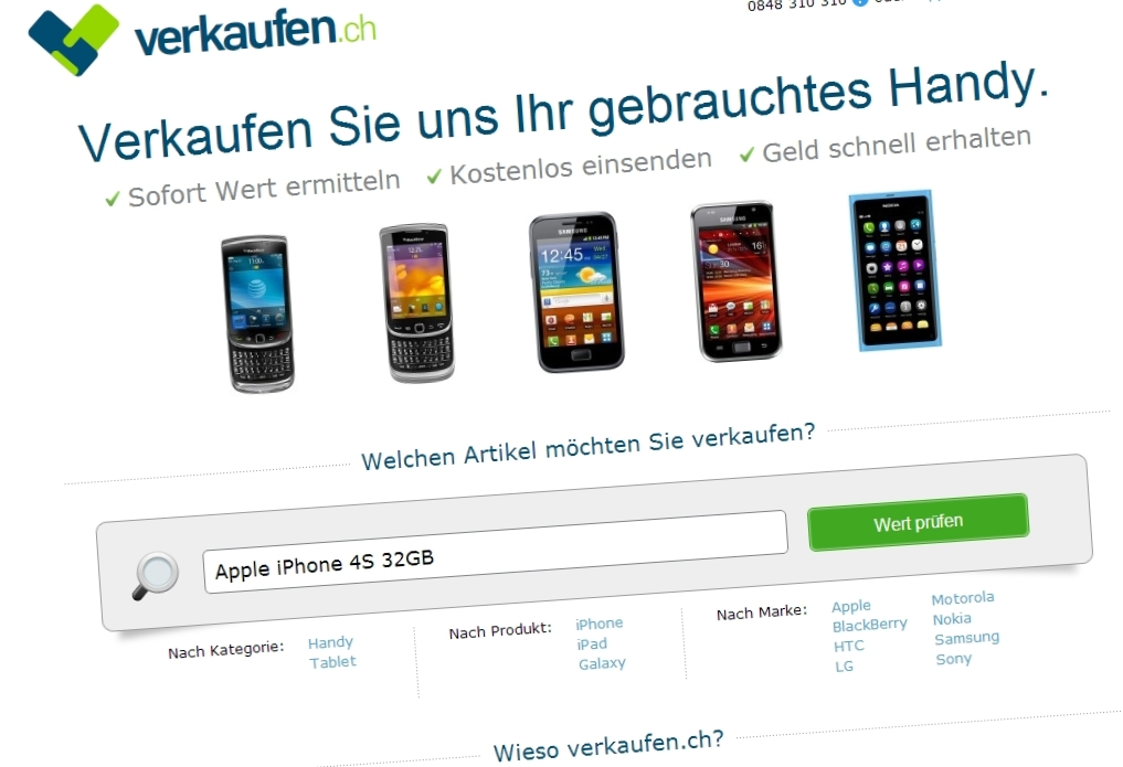 Kaputtes Iphone  Verkaufen