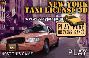 Jugar New York Taxi License 3D