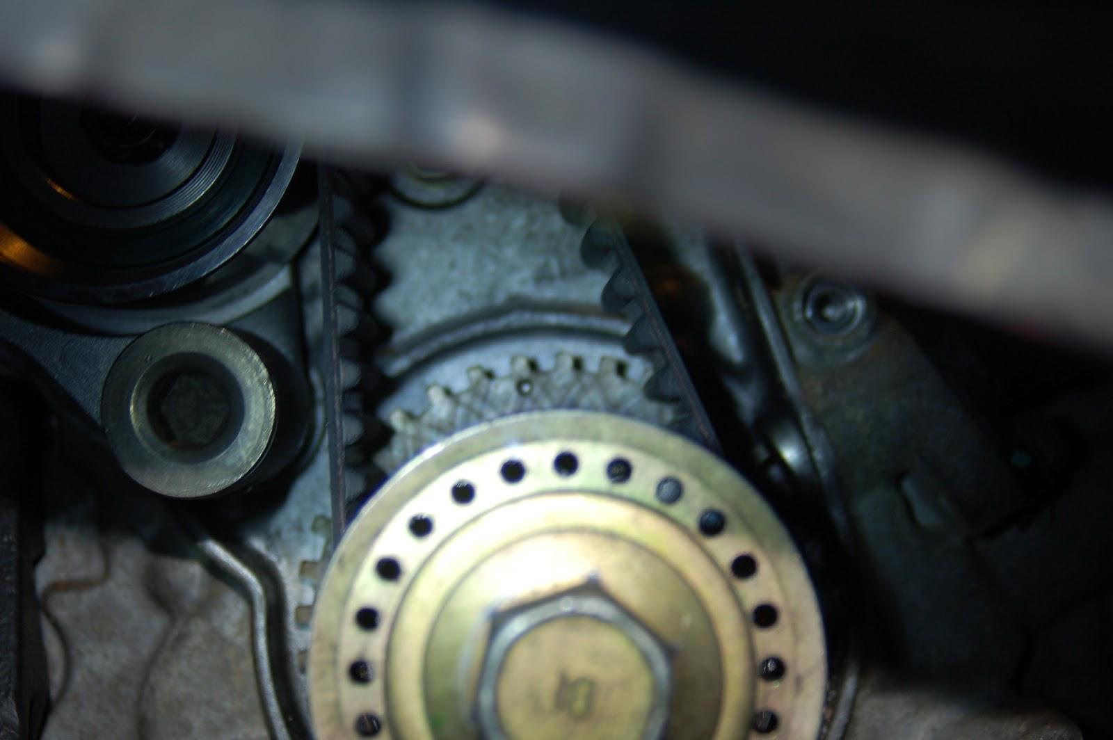 Toyota 2004 Sienna Repair 2004 Sienna Timing Belt Water